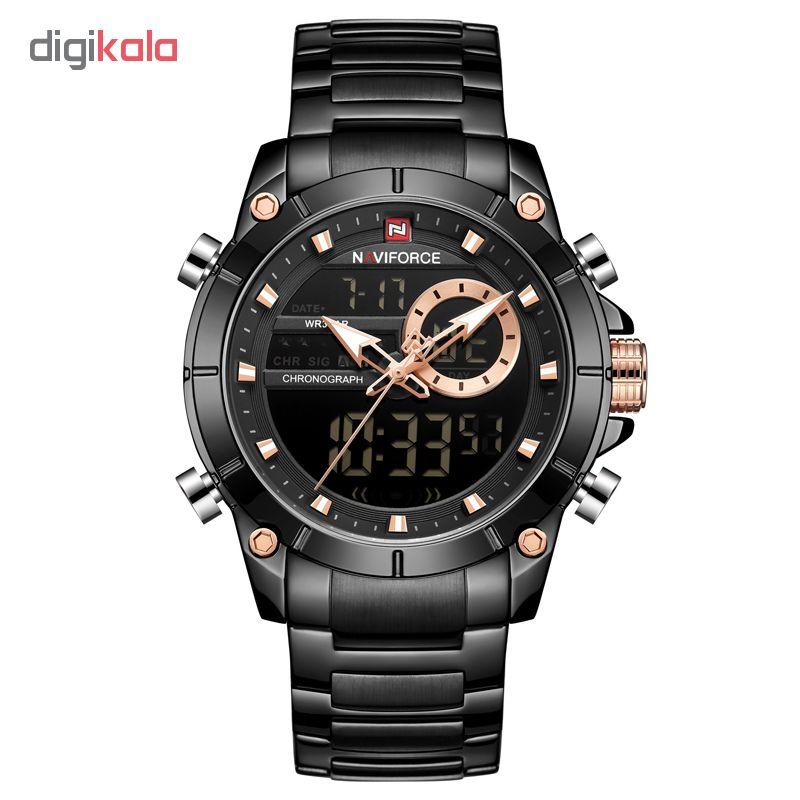 ساعت مچی دیجبتال مردانه نیوی فورس مدل NF9163M - ME             قیمت