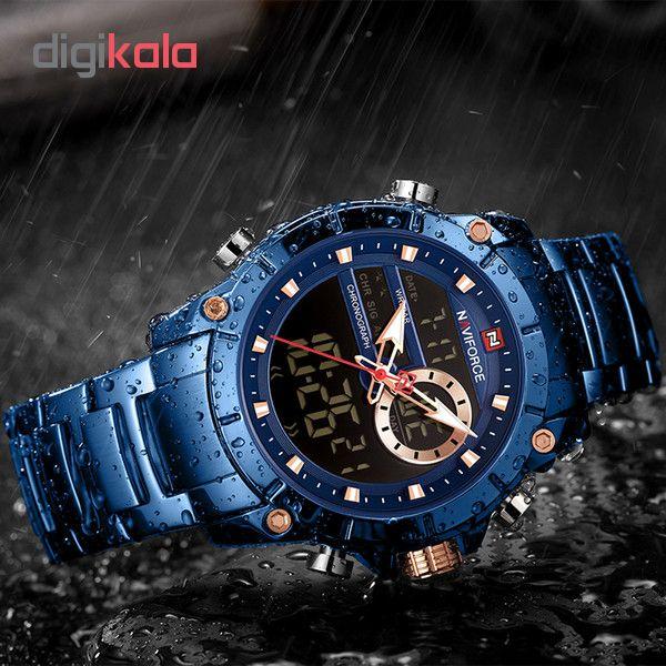 ساعت مچی دیجبتال مردانه نیوی فورس مدل NF9163M - SO             قیمت