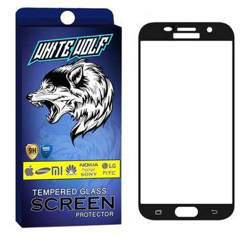 محافظ صفحه نمایش وایت ولف مدل WGF مناسب برای گوشی موبایل سامسونگ  Galaxy A3 2016