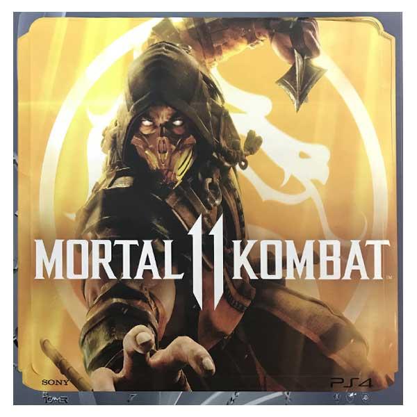 بررسی و {خرید با تخفیف} برچسب پلی استیشن 4 آیگیمر طرح Mortal Kombat اصل