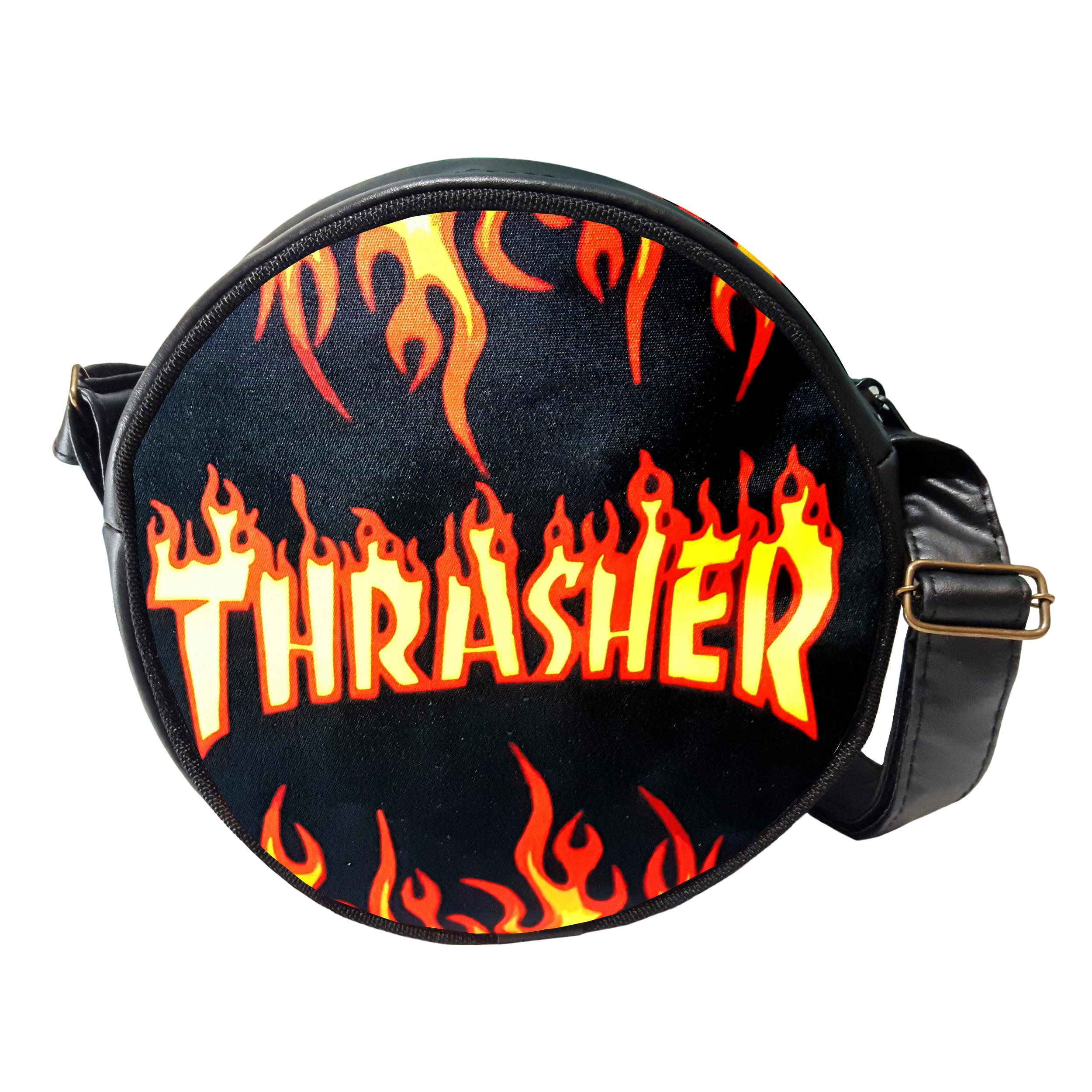 کیف دوشی طرح thrasher کد KDG-14