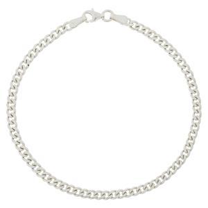 دستبند نقره مردانه مدل K007