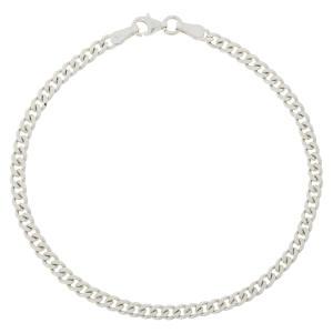 دستبند نقره مردانه مدل K009