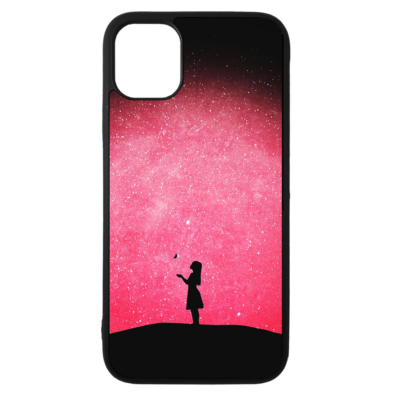 کاور طرح دختر کد 43201 مناسب برای گوشی موبایل اپل iphone 11 Pro