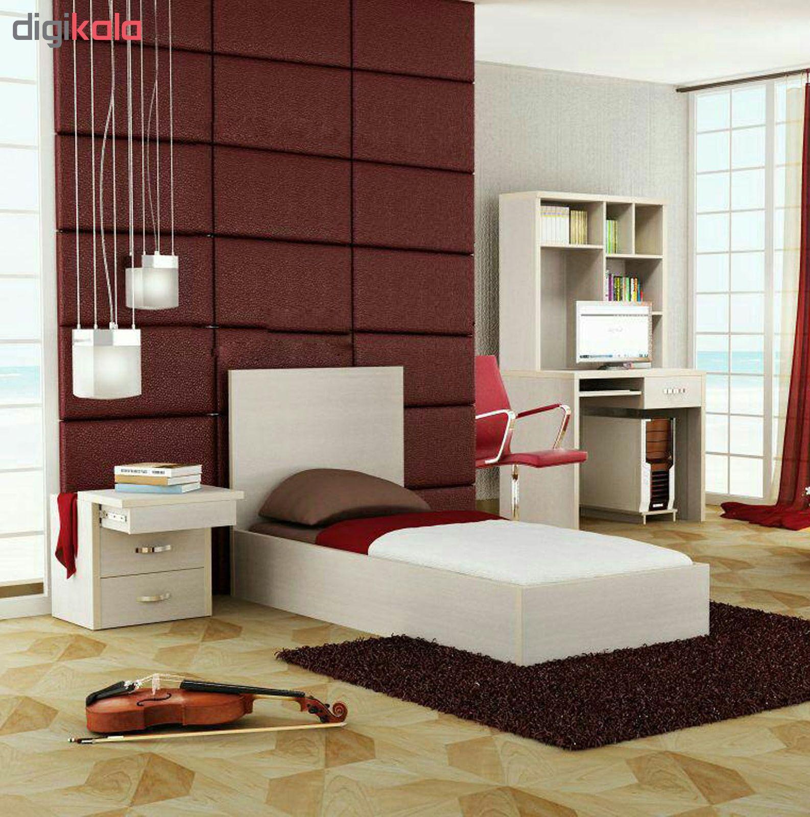 تخت خواب یک نفره مدل AK_B_AlbrzV سایز 90x200 سانتی متر main 1 2