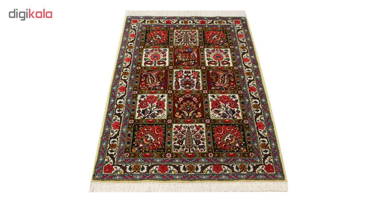 فرش دستبافت یک و نیم متری مدل بختیاری  کد  1105785