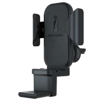 پایه نگهدارنده گوشی موبایل و شارژر بی سیم  مدل S17