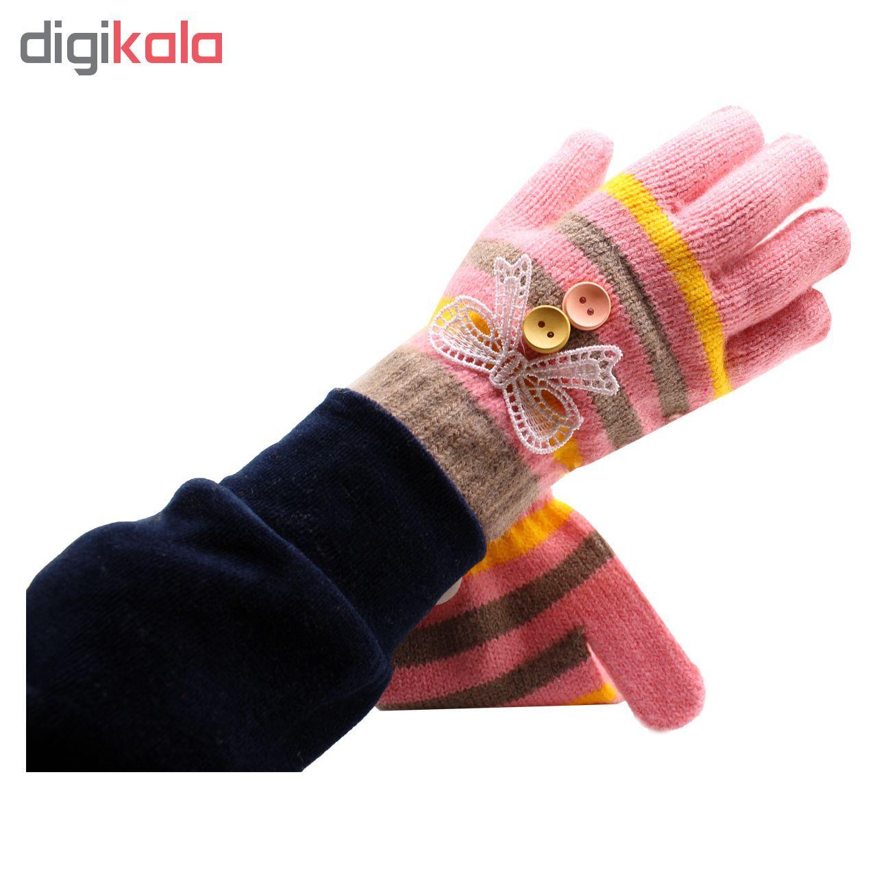 دستکش دخترانه مدل AD-003