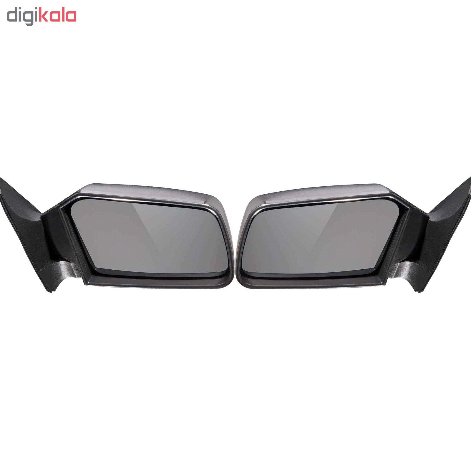 آینه جانبی  خودرو مدل FFPCO مناسب برای پراید بسته 2 عددی main 1 1