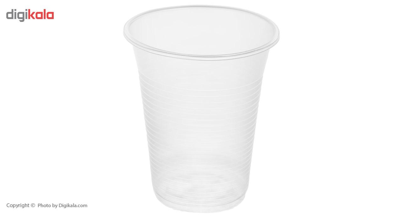 لیوان یکبار مصرف درفین کد 0017 بسته 100 عددی