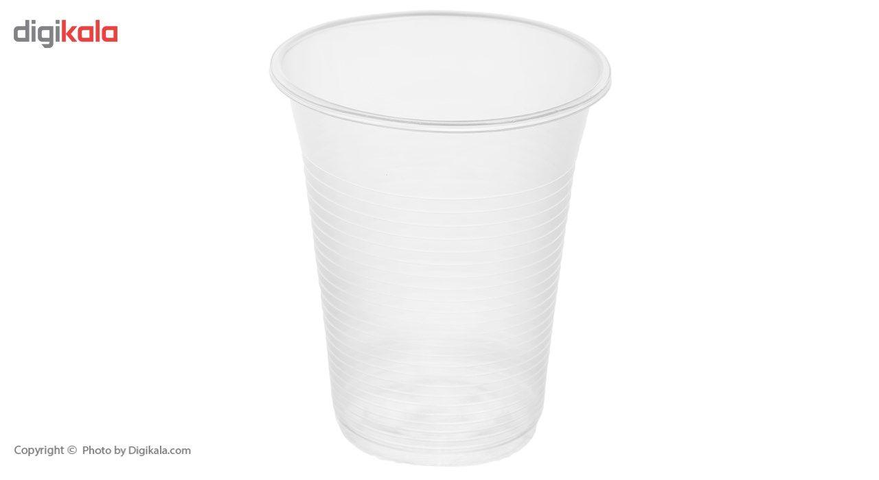 لیوان یکبار مصرف درفین کد 0017 بسته 100 عددی main 1 1