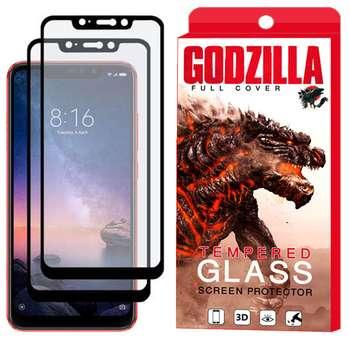 محافظ صفحه نمایش مات گودزیلا مدل GGM مناسب برای گوشی موبایل شیائومی Redmi Note 6 Pro بسته 2 عددی