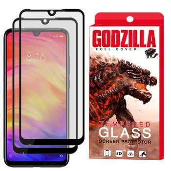 محافظ صفحه نمایش مات گودزیلا مدل GGM مناسب برای گوشی موبایل شیائومی Redmi Note 7 بسته 2 عددی