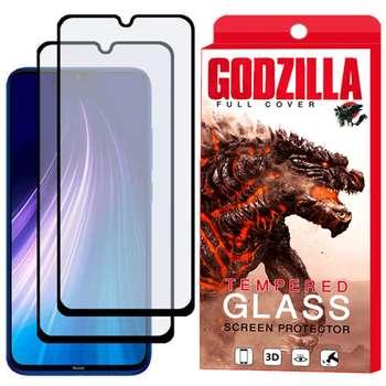 محافظ صفحه نمایش مات گودزیلا مدل GGM مناسب برای گوشی موبایل شیائومی Redmi Note 8 بسته 2 عددی