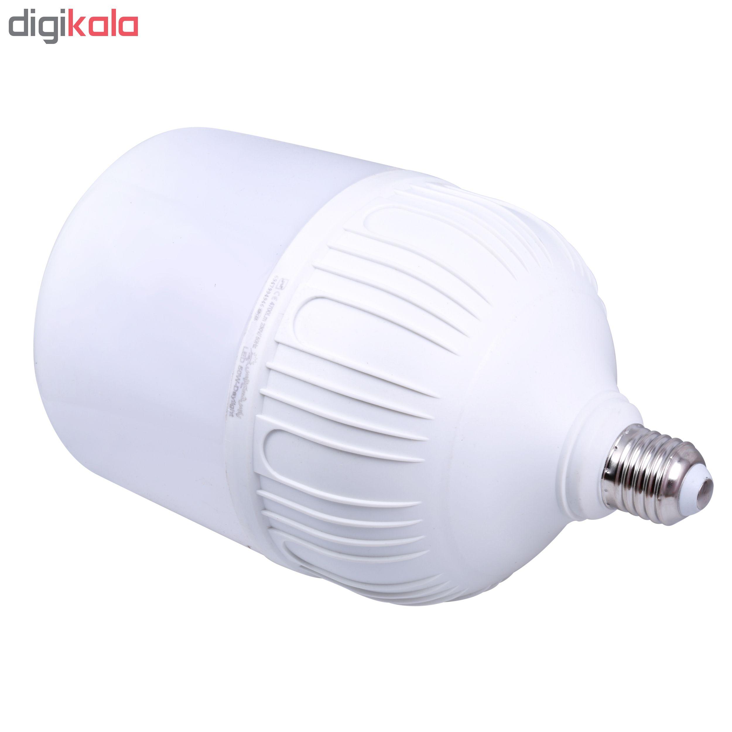 لامپ ال ای دی 50 وات پارس شعاع توس مدل PT-CY50 پایه E27 main 1 2