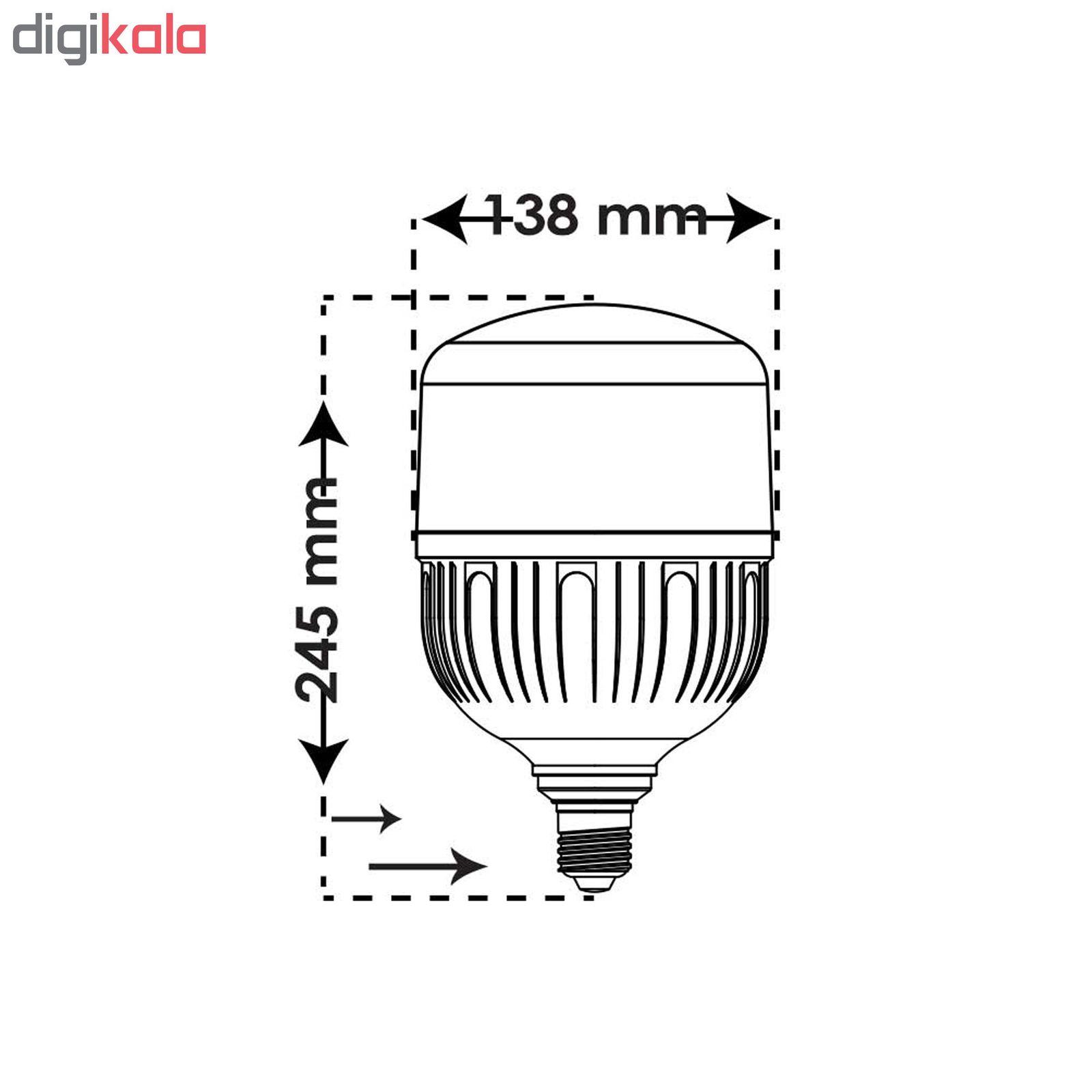 لامپ ال ای دی 50 وات پارس شعاع توس مدل PT-CY50 پایه E27 main 1 4