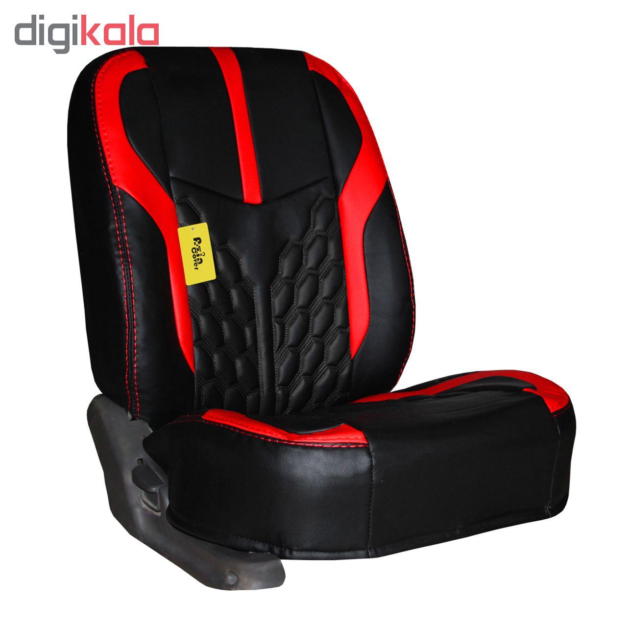 روکش صندلی خودرو آذین کاور کد AZ103 مناسب برای سمند