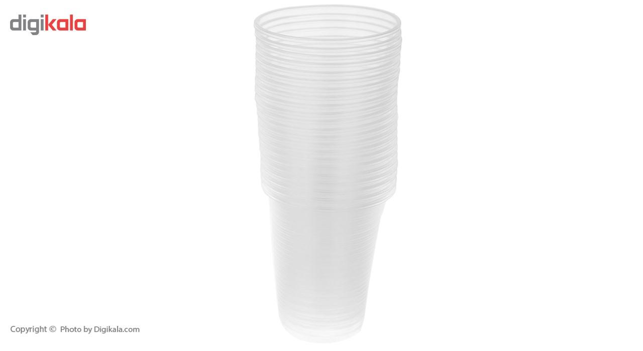 لیوان یکبار مصرف درفین کد 0017 بسته 100 عددی main 1 2