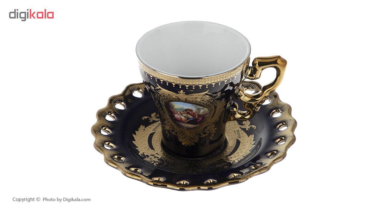سرویس چای خوری 17 پارچه مدل بانامان