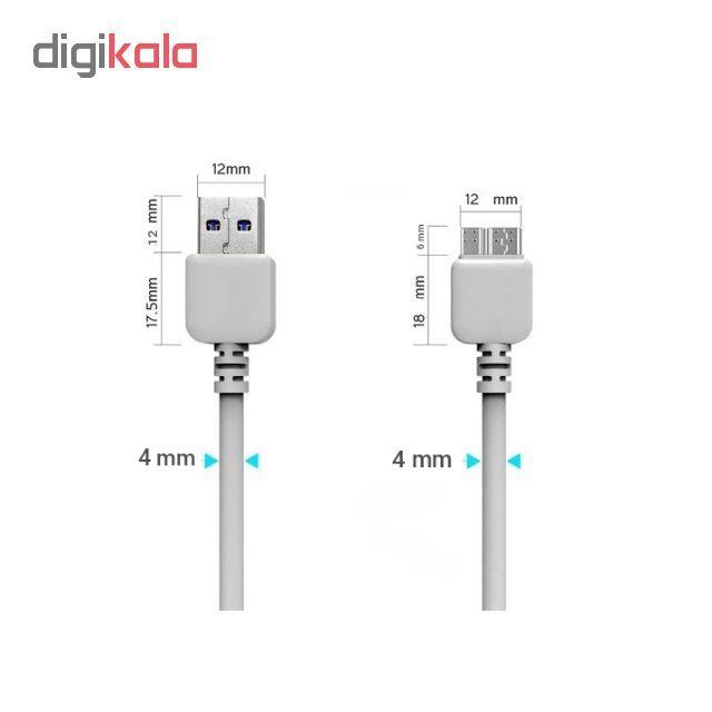 کابل تبدیل USB به Micro-B مدل Note3 طول 1 متر main 1 3