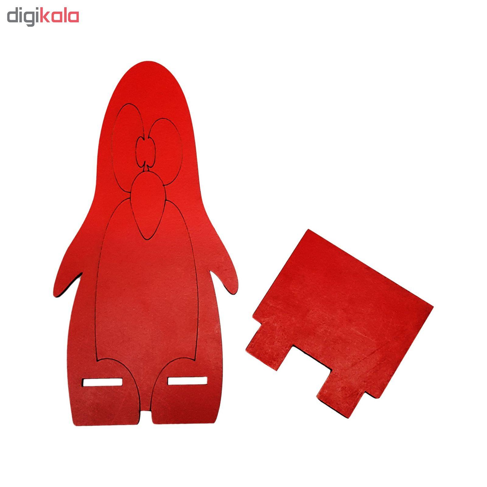 پایه نگهدارنده گوشی موبایل طرح پنگوئن مدل Mhr-255 main 1 2