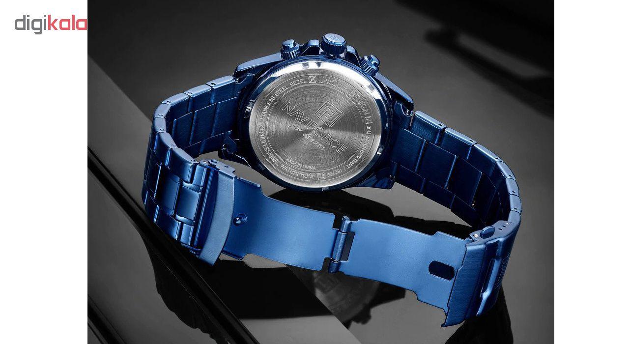 کد تخفیف                                      ساعت مچی عقربه ای مردانه نیوی فورس مدل NF9150M