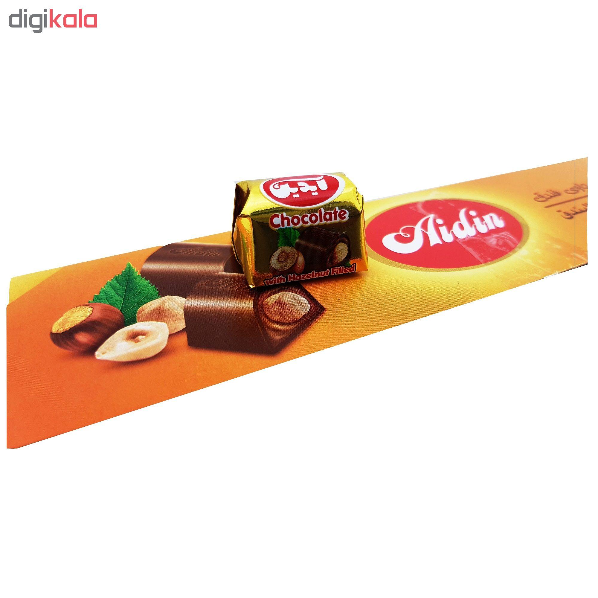 شکلات شیری با مغز فندق آیدین مقدار 1 کیلوگرم main 1 4