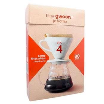 فیلتر قهوه گوون مدل V60 بسته 80 عددی