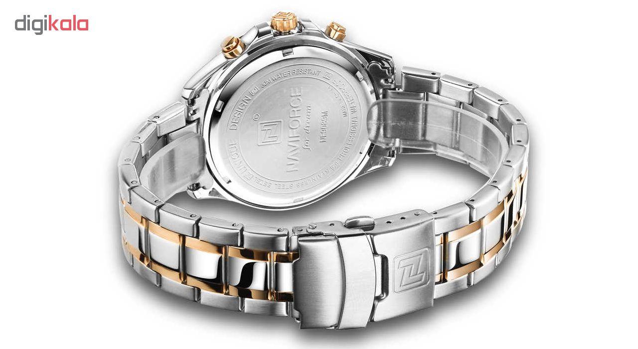 کد تخفیف                                      ساعت مچی عقربه ای مردانه نیوی فورس مدل NF9089M RW