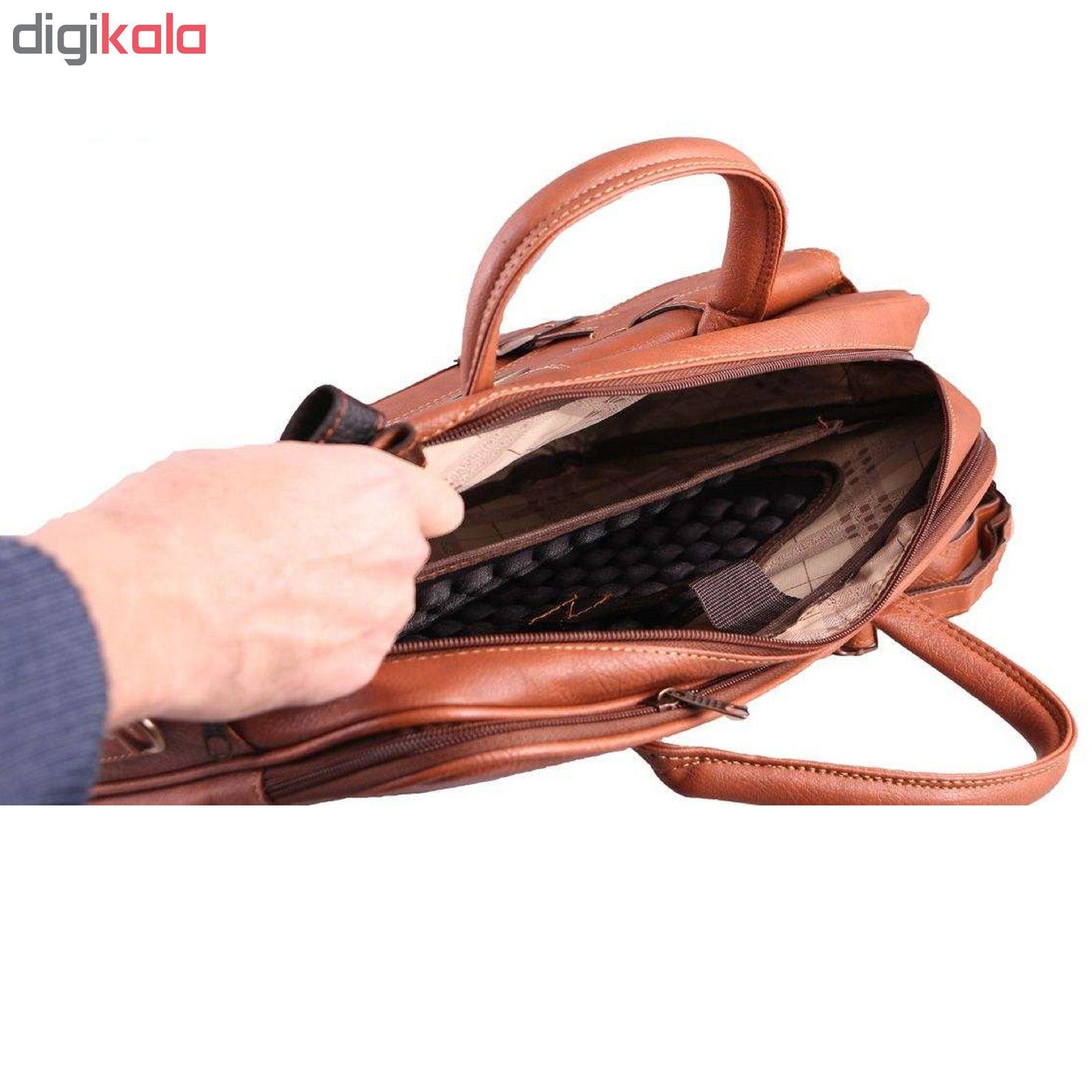 کیف لپ تاپ پارینه کد TGH132 مناسب برای لپ تاپ 15 اینچی main 1 8