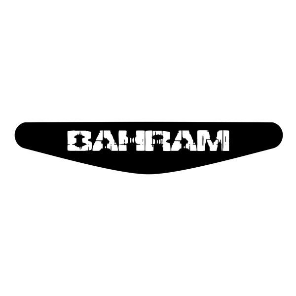 برچسب لایت بار دسته پلی استیشن 4 ونسونی طرح BAHRAM
