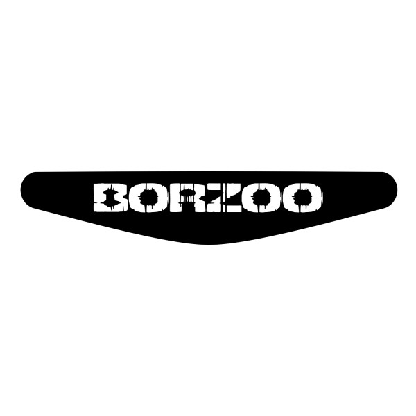 برچسب لایت بار دسته پلی استیشن 4 ونسونی طرح BORZOO