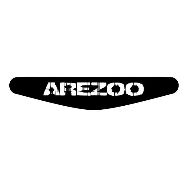 برچسب لایت بار دسته پلی استیشن 4 ونسونی طرح AREZOO