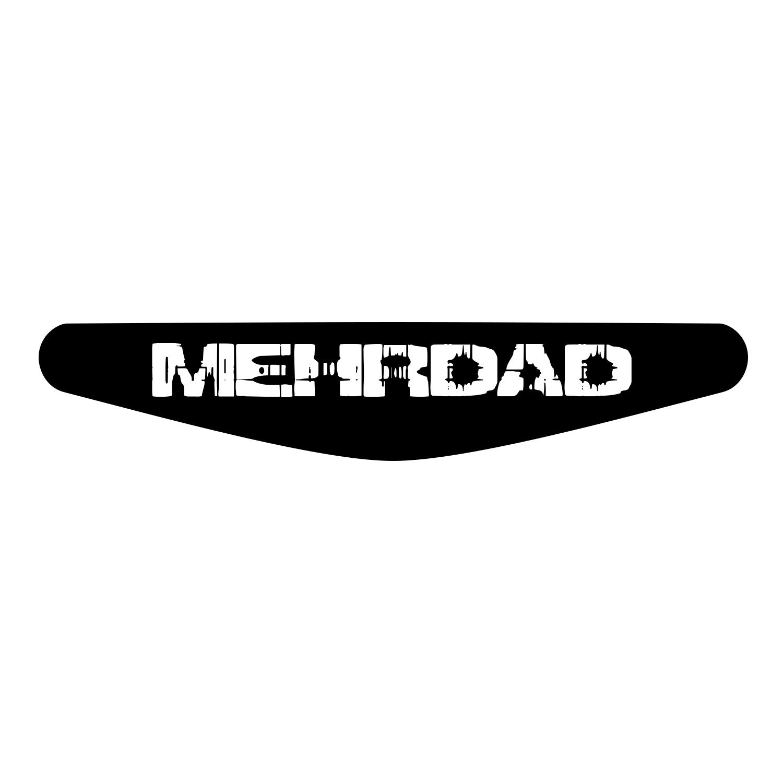 برچسب لایت بار دسته پلی استیشن 4 ونسونی طرح MEHRDAD