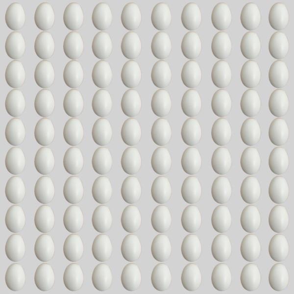 تخم مرغ تزئینی کد 01 بسته 100 عددی