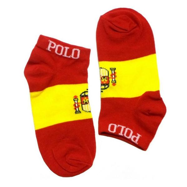 جوراب زنانه طرح پرچم اسپانیا
