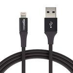 کابل تبدیل USB به لایتنینگ آمازون بیسیکس مدل L6LMF129-CS-R طول 1.8 متر thumb