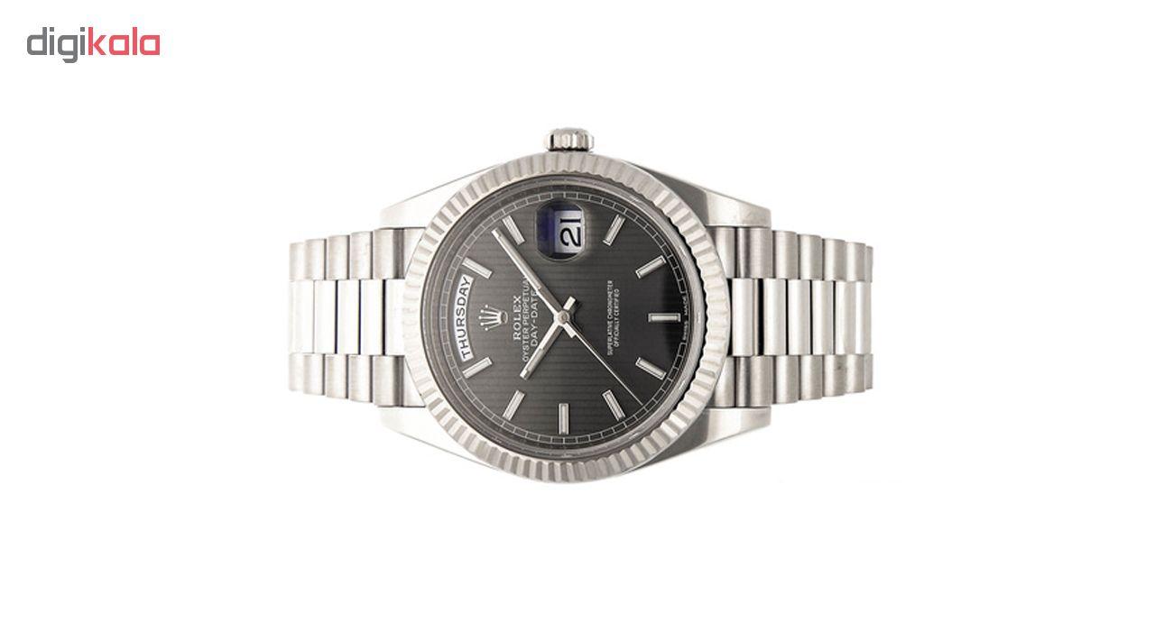 ساعت مچی عقربه ای مدل EX-date-Gr-M