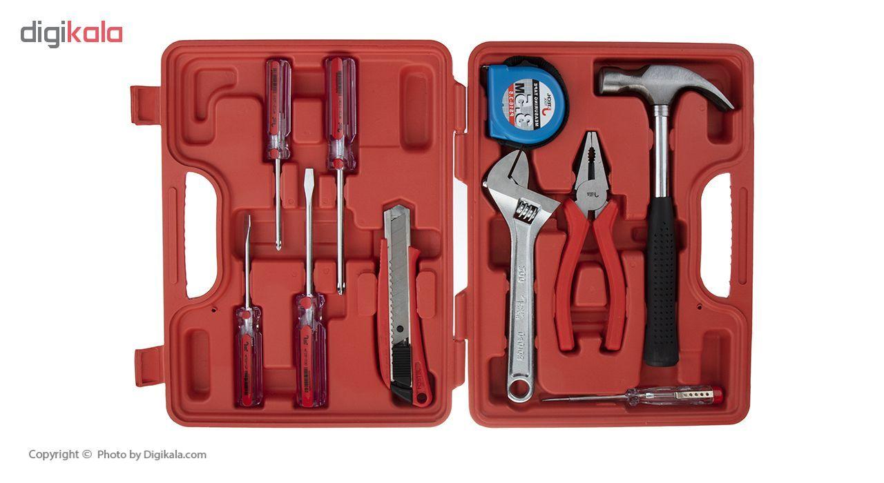 مجموعه 10 عددی ابزار جتک مدل JEB-F10 main 1 2