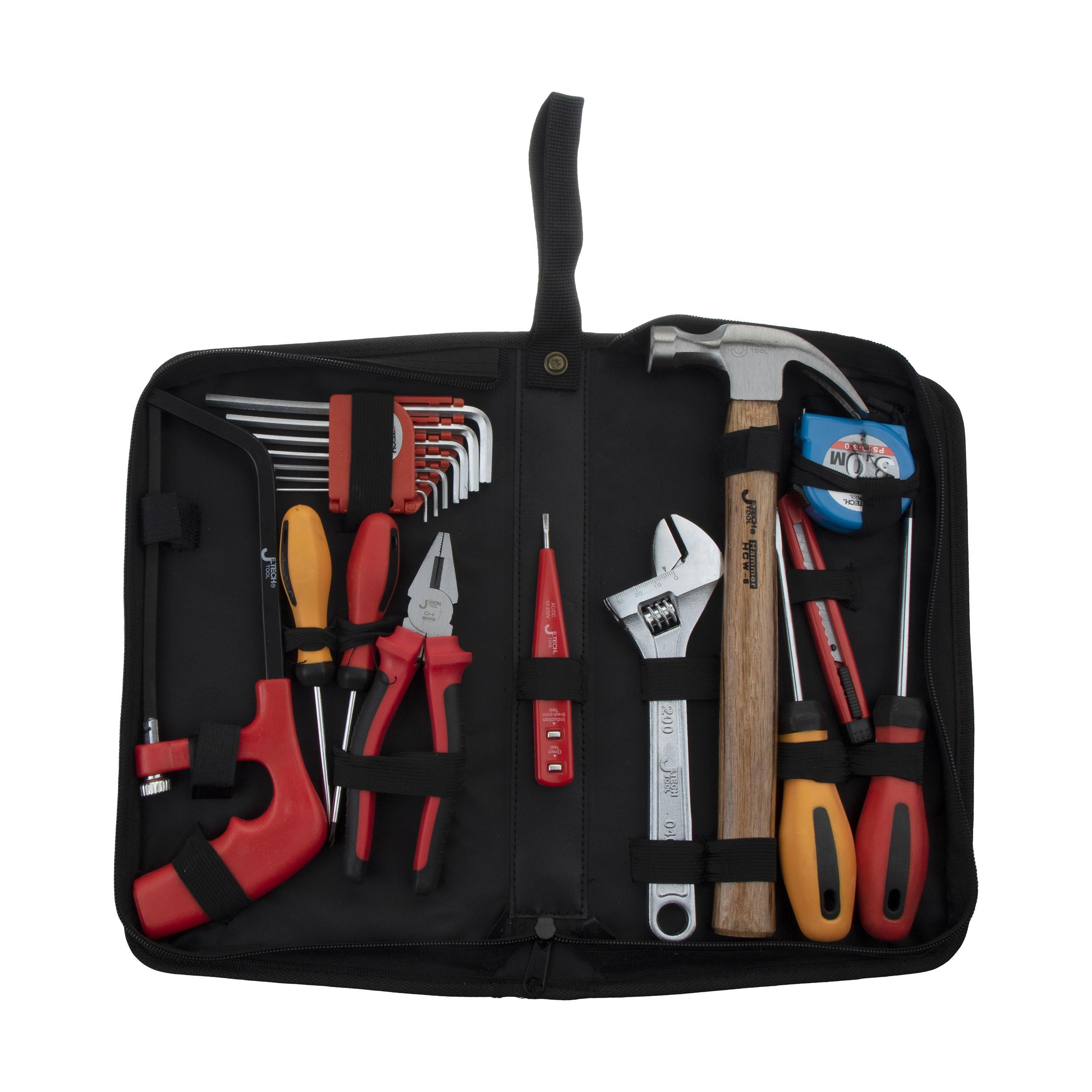 مجموعه 18 عددی ابزار جتک مدل JEP-R18