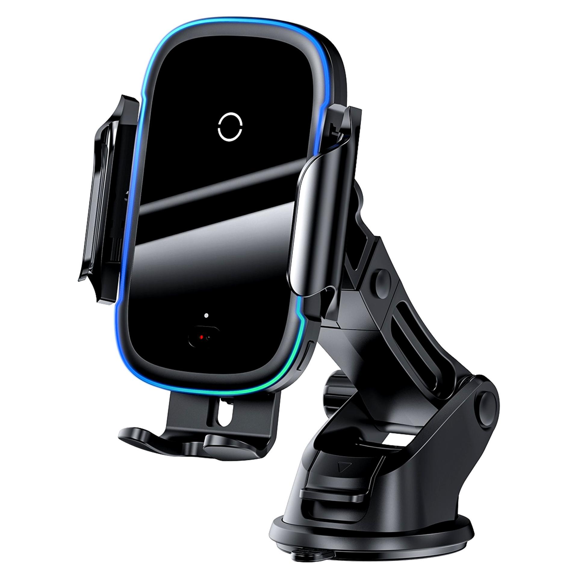 پایه نگهدارنده و شارژر بی سیم گوشی موبایل باسئوس مدل WXHW03