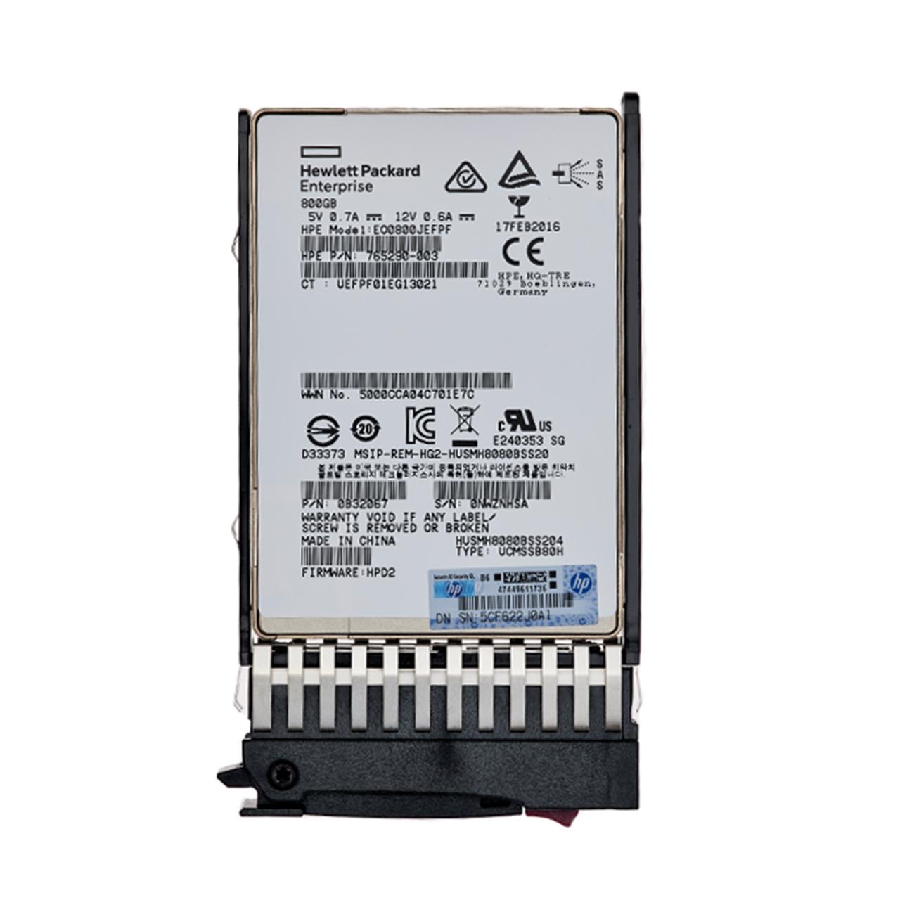 اس اس دی اینترنال اچ پی ای مدل EO0800JEFPF ظرفیت 800 گیگابایت