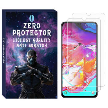 محافظ صفحه نمایش زیرو مدل SDZ-01 مناسب برای گوشی موبایل سامسونگ Galaxy A70 بسته دو عددی