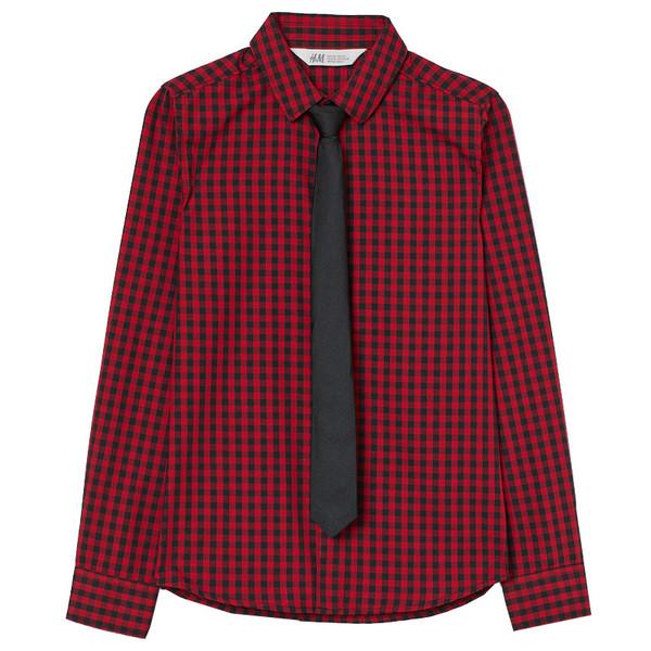 ست پیراهن و کراوات پسرانه اچ اند ام کد 0754344002