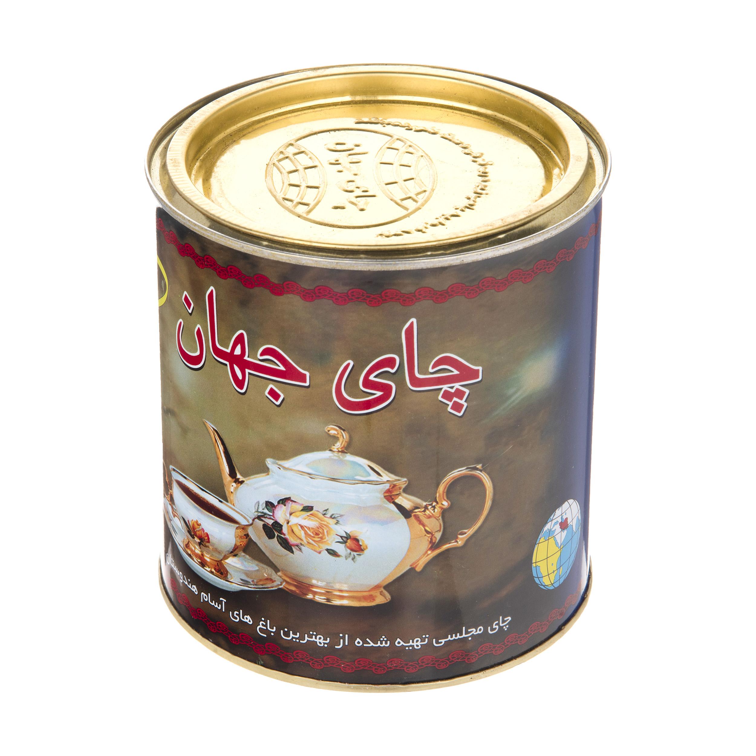 چای سیاه شکسته خارجی جهان مقدار 450 گرم