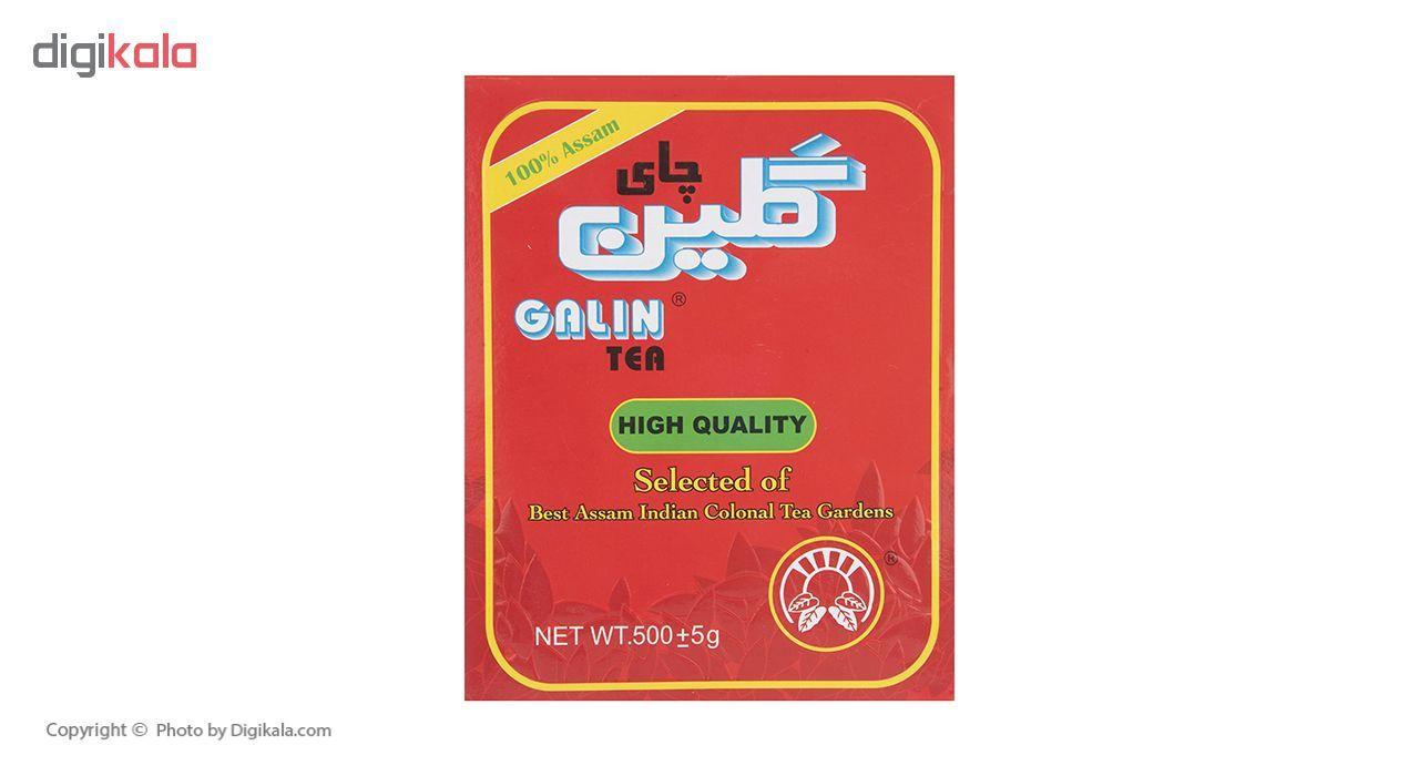 چای سیاه شکسته باروتی خارجی گلین 500 گرم main 1 4