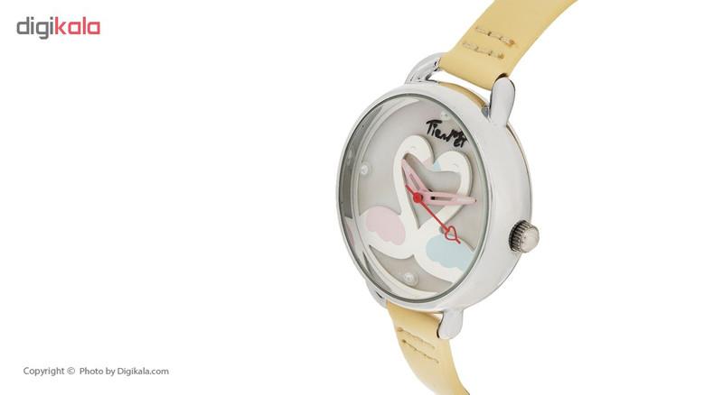 ساعت مچی عقربه ای دخترانه مدل TM-086