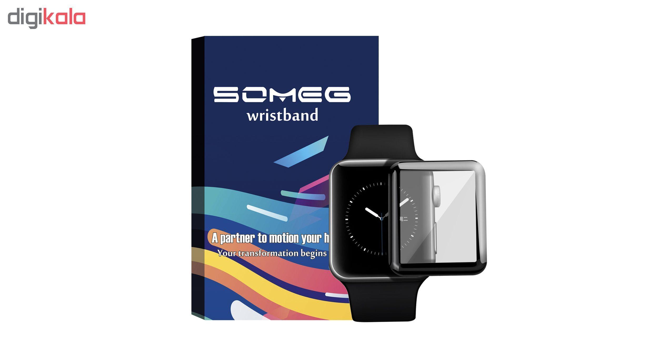محافظ صفحه نمایش سومگ مدل SMG-G38 مناسب برای اپل واچ 38 میلی متری main 1 1