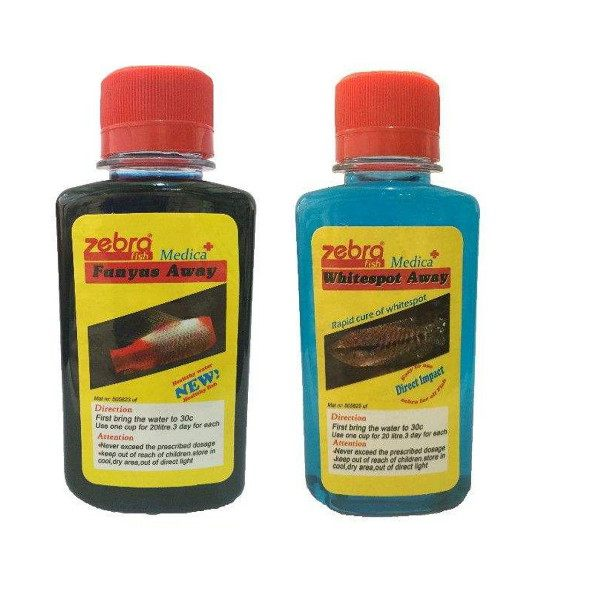 محلول ضد عفونی کننده آب زبرا مدل fn-33 حجم 120 میلی لیتر به همراه محلول ضدسفیدک