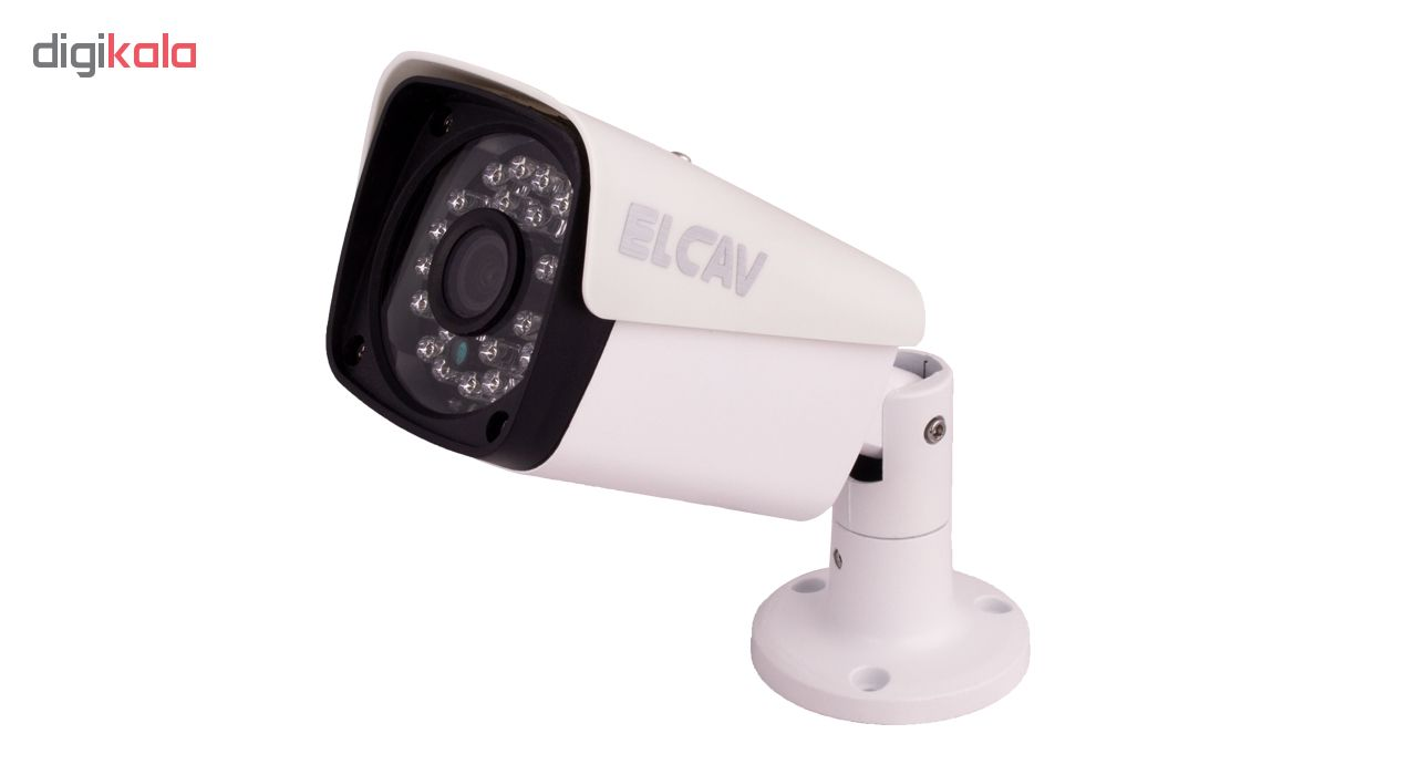 دوربین مدار بسته آنالوگ الکاو مدل EC-AHD-270-2MP بسته 8 عددی